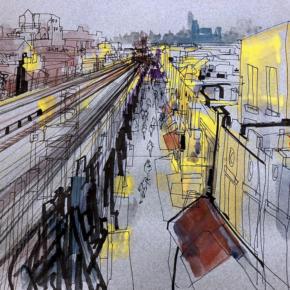 Specialises In Murals, Reportage & Illustration