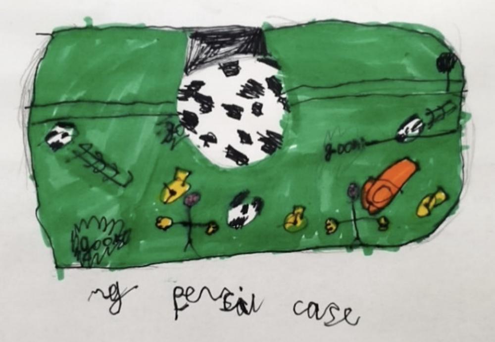 Pencil Case by Katherine Woodard