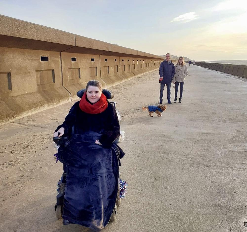 Ava Jolliffe by the Beach