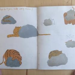 Illustrator Inbal Leitner shares her Tiger Sketchbook