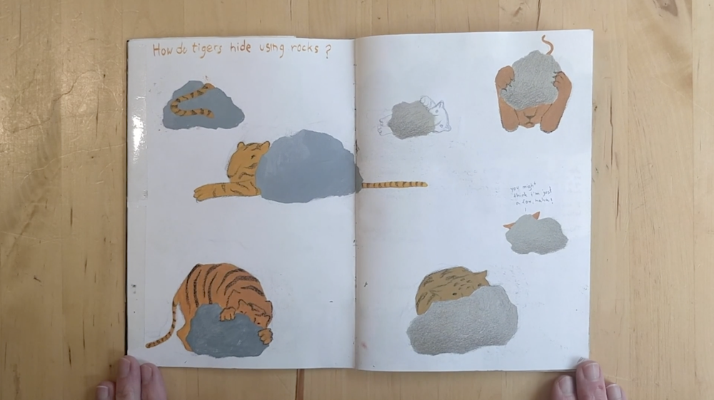 Tigers Hiding By Inbal Leitner