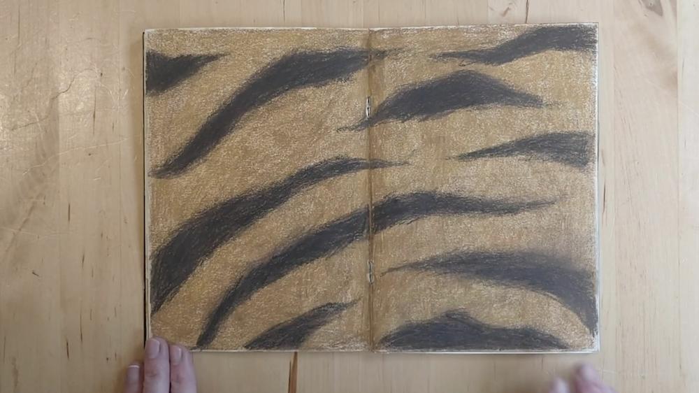Tiger Fur by Inbal Leitner