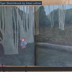 Illustrator Inbal Leitner shows us how she uses sketchbooks to illustrate poetry