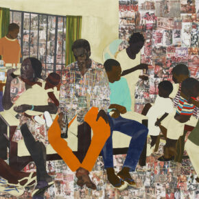 Painted & Collaged Narratives of Cultural Collision