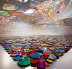 Immersive Installations Playing With Light, Colour, Shape & Form