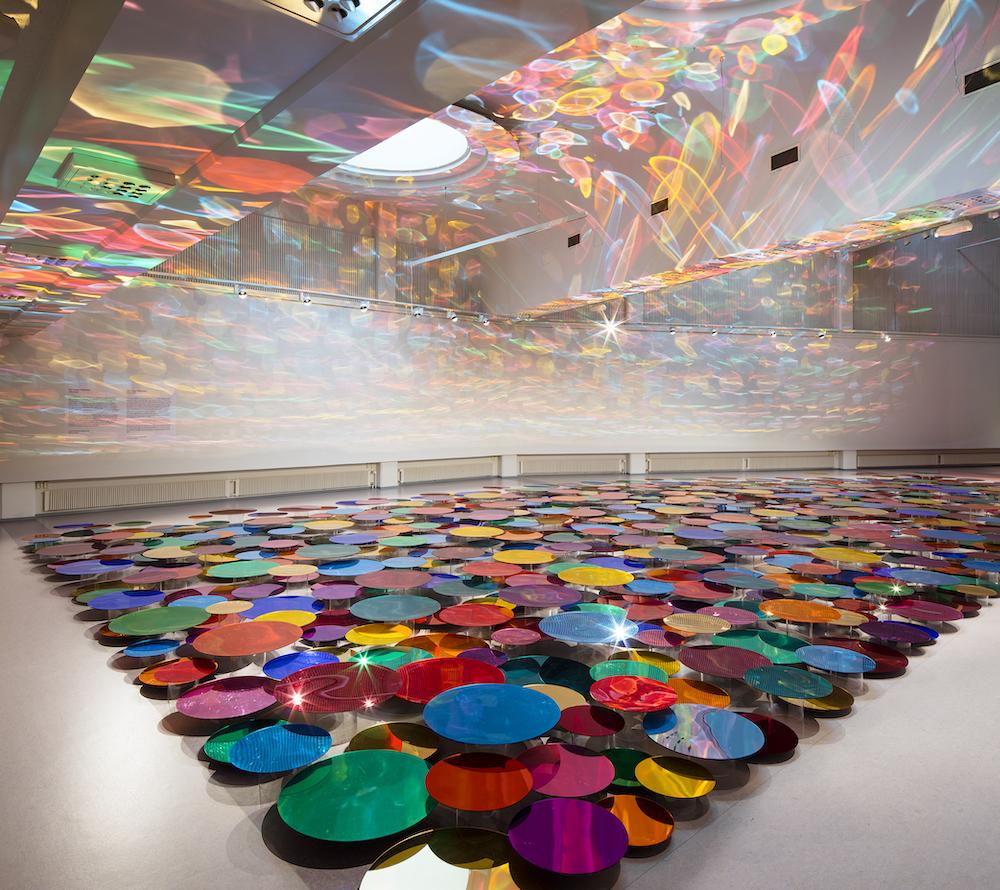 Liz West, Our Colour Reflection, 2020 © Jussi Tiainen : Hyvinkää Art Museum