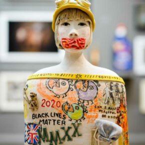 Figurative sculptures with a sense of narrative