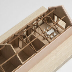 Architecture incorporating highly crafted joinery and timber