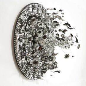 Mixed Media Sculptures From Contemporary Historical Sources