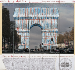 Temporary, Large Scale Interventions Including Wrapping Buildings In Fabric