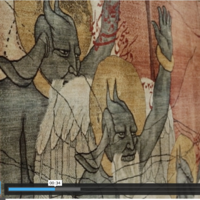 Large Scale Tapestries Illustrating The Impact Of War & Persecution