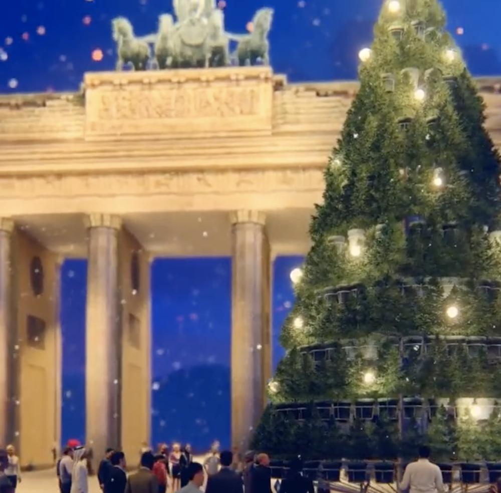Andrew Amondson Living Christmas Tree